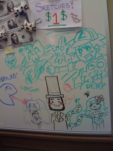 whiteboard art